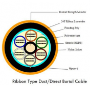 Ribbon Fibre Diagram